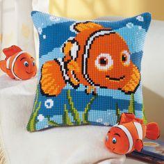Disney - Nemo Cross Stitch Cushion Kit | sewandso