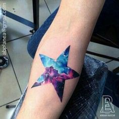 Stern Tattoo galaxy