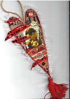 """8"""" Valentine Heart Ornies"""