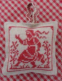 Freebie sower sachet cross stitch x-stitch