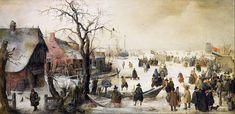 Winter Art Projects | File:Hendrik Avercamp - Winter Scene on a Canal - Google Art Project ...