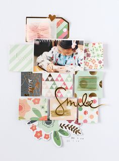 LAYOUT - SMILE by EyoungLee at @studio_calico