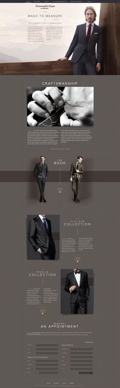 Men's Suit Website