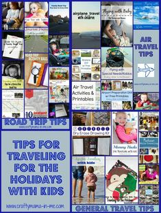 Tips for Traveling for the Holidays with Kids - Crafty Mama in ME!