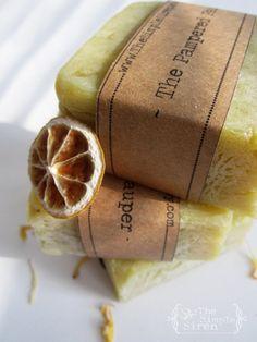 Handmade, cold pressed, Jasmine Citrus Organic Soap made by TheSimpleSiren!