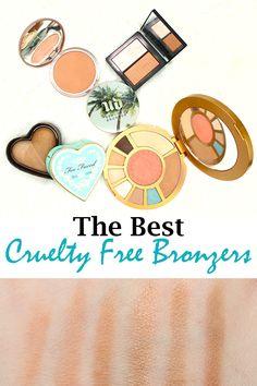 Top 10 Cruelty Free Bronzers, with vegan options!