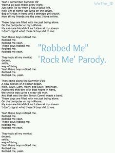 I sang this ..