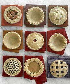 Décoration originale pour les pâtes à tarte.