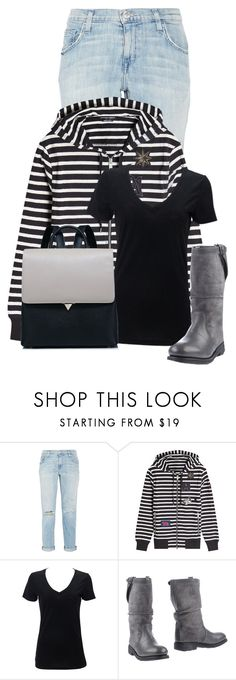 """""""Untitled #21614"""" by nanette-253 ❤ liked on Polyvore featuring Current/Elliott, Alexander McQueen and Bikkembergs"""