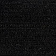 Colonial Braided Rug Co - Solid Black Braided Rug, $59.70 (http://www.colonialrug.com/solid-black-braided-rug/)