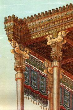 arte persa, arquitectura