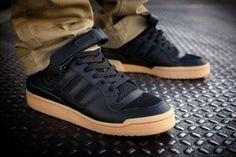 huge selection of 9da1e f9154 adidas Originals Forum Lo  Black Gum Best Looking Shoes, Adidas Basketball  Shoes,