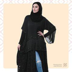 #Repost @saraya.alnoor with @instatoolsapp  لإنك تستحقين اطلالة مميزة  نقدم لكي تصاميم حصرية جديدة.. كونوا بالقرب .. Model @dana.kanan  Graphic design: @galaxywayadv  Photography: @zahir_7  #sarayaalnoor #saraya #alnoor #black #abaya #bridalabaya #luxury Abaya Dubai, Abaya Designs, Abaya Fashion, Abayas, Homes, Instagram Posts, Beautiful, Houses, Home