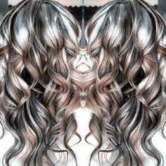 Gray Lace Frontal Wigs wash in wash out colour for grey hair – wigsshort Hair Gray Lace Frontal Wigs Wash In Wash Out Colour For Grey Hair Gray Hair Highlights, Balayage Blond, Grey Wig, Teal Hair, Hair Color And Cut, Silky Hair, Hair Dos, Synthetic Hair, Gorgeous Hair