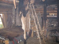 Fur trappers cabin Philmont