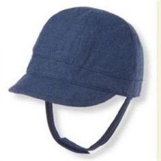 4c8ff25aea6 NWT Janie and Jack Fair Isle Fox Navy Hat Riding Cap 3 6 months Baby Boy