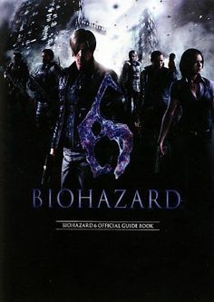 Biohazard 6 (Resident Evil 6) Official Guide Book Game data NEW