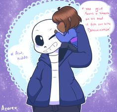 I think Sans would kiss back, you know, if he had lips...