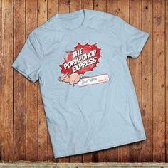 Pork Chop Express T-shirt. Ispired by the classic movie, Big Trouble in Little China by john carpenter.