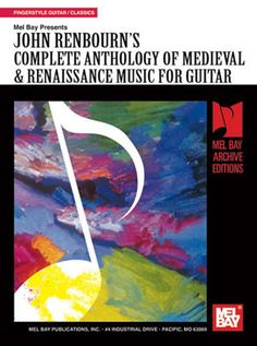 Complete Anthology of Medieval & Renaissance Music for Guitar (Book+Online Audio)