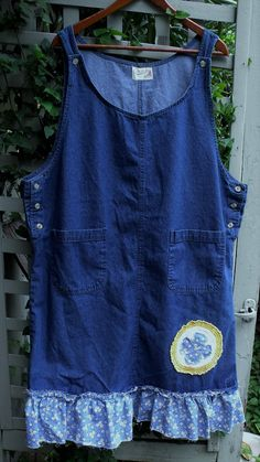 Denim and Daisies Jumper/ Plus Size Jumper/ Funky by SheerFab