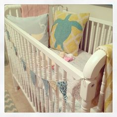 soothing nursery by Farm & Factory Design