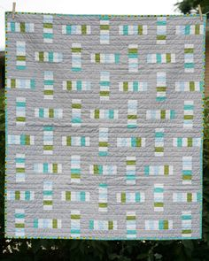 Modern Day Quilts : Seems simple, yet interesting in how not quite ... : modern day quilts - Adamdwight.com