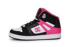 Top DC Rebound Hi (Zwart) Sneakers van het merk DC voor Dames. Uitgevoerd in Zwart gemaakt van Leer. Nu verkrijgbaar voor 0.00 bij Sneakershop.