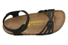 Birkenstock Bali W (Noir) - Sandales et nu-pieds chez Sarenza (61319)