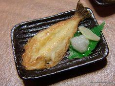 和食 - ちょび子のミニチュアレストラン 樹脂粘土で作る12分の1サイズのミニチュアフード