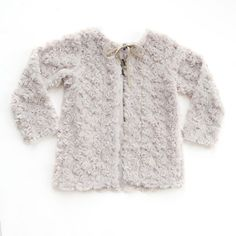 Girl's Jacket: Warm and luxe Faux Fur Tie Jacket #Heloise heloisechildrensboutique.com