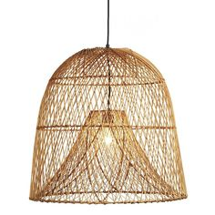 Shop Nassa Basket Pendant Light. Named after a vintage fishing basket native to southern Italy, Euga Design's pendant utilizes the same double frame technique originally crafted to trap fish.