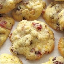 Soft and Chewy Vanilla-Orange Cranberry Cookies
