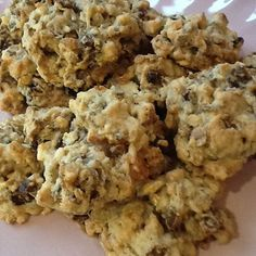 I love food and I love making it. I cannot get away from that fact. In order to try and counteract this a bit, I'm a) trying to up my exercise levels and b) Peanut Butter Cookie Recipe, Cookie Recipes, Rabbit Food, Muesli, I Love Food, Snacks, Fruit, Desserts, Baking Ideas