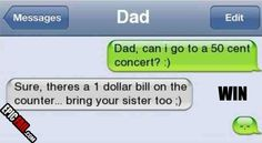 This dad who makes the best dad jokes: | 31 Of The Most Awesome Dads Ever