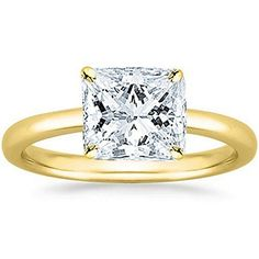 1 Carat GIA Certified White Gold Solitaire Princess Cut Diamond Engagement Ring Ct I-J Color, Clarity) – Jewelry & Gifts Princess Cut Rings, Princess Cut Engagement Rings, Princess Cut Diamonds, Vintage Engagement Rings, Diamond Engagement Rings, Solitaire Diamond, Solitaire Rings, Diamond Rings, Halo Engagement