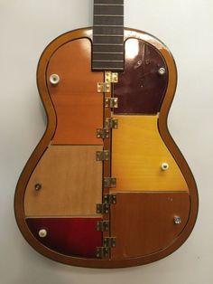 une lampe r alis e avec un manche de guitare d co diy pinterest manche de guitare. Black Bedroom Furniture Sets. Home Design Ideas