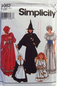Simplicity 9982 Misses' Costume