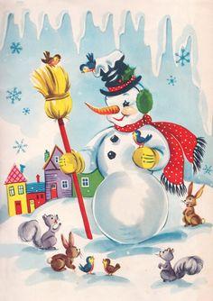 "illustration from the book ""Santa's Workshop"""