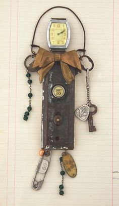 Art Doll made from salvaged parts  Jeanette Janson
