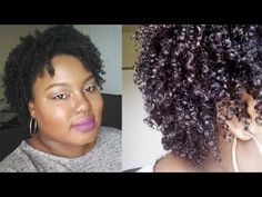 Updated Wash N Go Tutorial | Natural Hair - YouTube