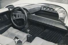 1968 Alfa Romeo Stradale P33 Pininfarina Roadster interior