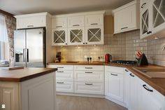 Realizacja kuchni w domu jednorodzinnym - zdjęcie od WOSMEBL Rzeszów Meble na wymiar - Kuchnia - Styl Prowansalski - WOSMEBL Rzeszów Meble na wymiar