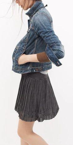 Kiki Sloane (urbnite: The Jean Jacket by Madewell)