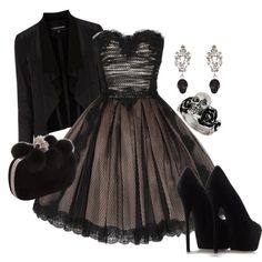 Love this dress and the skull embellishments to the outfit. Cute Emo Outfits, Punk Outfits, Dress Outfits, Girl Outfits, Dress Up, Fashion Outfits, Punk Dress, Lace Dress, Alternative Rock