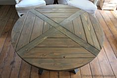 http://thatsmyletter.blogspot.com/2014/09/x-is-for-x-base-circular-dining-table.html