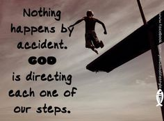 God is directing our steps