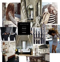 Stripes- This is collage art!