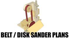 Belt / Disk sander Plans for sale