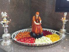 Annapurani Sai Baba Quotes, Sai Baba Pictures, Lord Ganesha Paintings, Swami Samarth, Baba Image, Ethnic Home Decor, Shiva Wallpaper, Om Sai Ram, Pooja Rooms